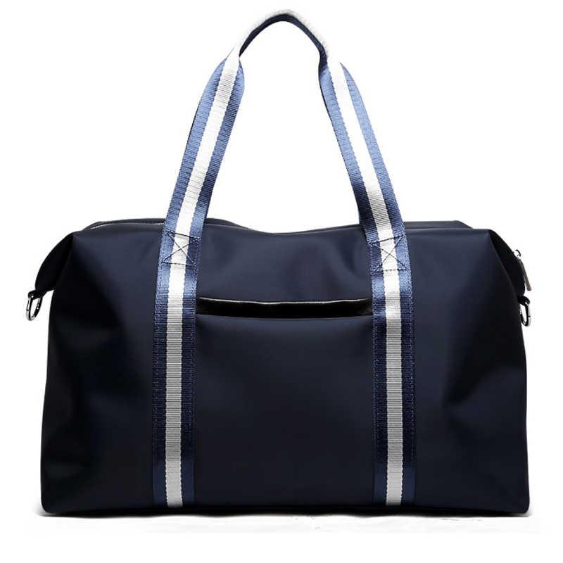 Bopai Merk Nieuwe Aankomst Bagage Tassen Blue Reistassen Voor Mannen Twee Behulp Methoden Reizen Draagtas Voor Vrouwen Unisex plunjezak Big