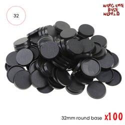 32 мм пластиковые базы настольные игры 100 шт. модель базы 32 мм круглые базы