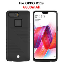 NTSPACE Battery Charger Cases For OPPO R11s Power Bank Case 6800mAh Ultra Slim Portable Cover Rechargeable