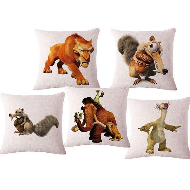 இ17 animal palabra casa sofá decorativo asiento Cojines sin llenado ...