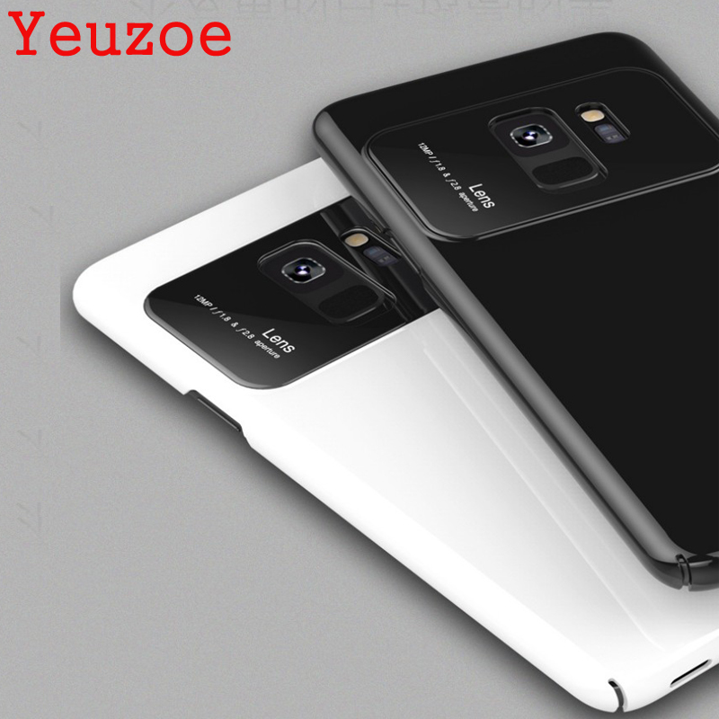 Yeuzoe Fashion For Samsung Galaxy S9 Case Hybrid Tempered Glass + PC Back Cover  for Samsung Galaxy S9 Plus Phone Case S9plus