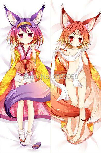 Anime Manga NO GAME NO LIFE The Game Of Life 150x50cm 100x35cm Pillow Case Cover 002