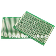 5pcs/lot 5x7cm DIY Double Side Copper Prototype PCB Universal Printed Circuit Board Experimental Plate Protoboard