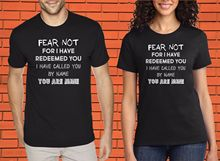 Fear Not Inspiration Christian Hope Worship Jesus Christ Church Faith T Shirt  Free shipping Tops t-shirt Fashion Classic