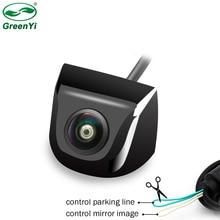 Balıkgözü Lens Starlight gece 170 derece HD Sony/MCCD araba dikiz ters geri görüş kamerası için park monitörü