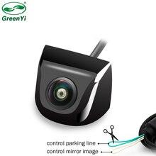 Fisheye עדשת אור כוכבים לילה 170 תואר HD Sony/MCCD רכב מבט אחורי הפוך גיבוי מצלמה עבור חניה צג