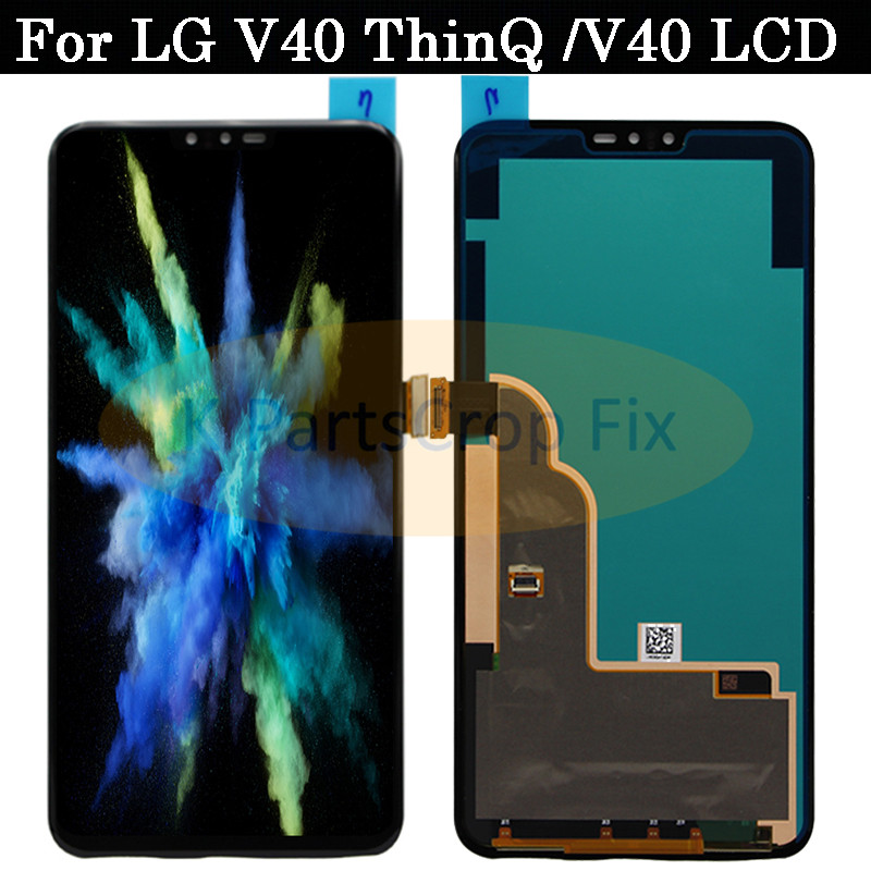100 Tested Working 6 4 For LG V40 LCD Screen Touch Screen Digitizer Assembly For LG