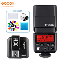Godox TT350 мини TT350S софтбокса Speedlite flash ttl 2,4G + X1T S передатчик Беспроводной флэш Trigge для sony Камера A7 A7S A7R A7 II