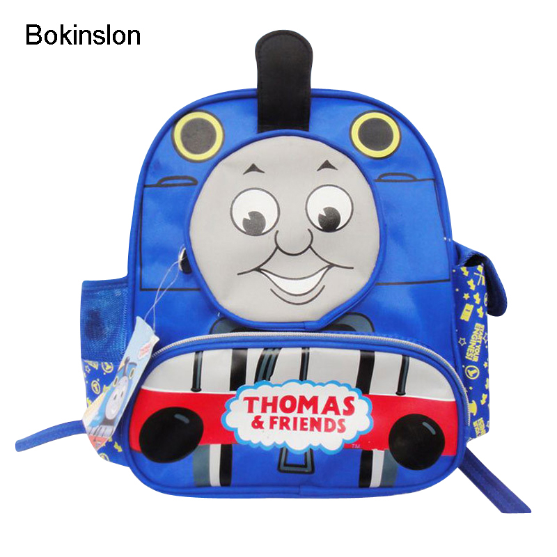 Bokinslon Primary School Students Backpacks Canvas Cartoon Child Cute Bags Casual Fashion Boy Backpack Girls рюкзаки zipit рюкзак shell backpacks