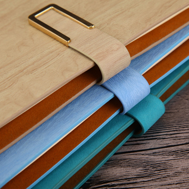Faux Δερμάτινα Επιχειρηματικά Notebooks - Σημειωματάρια - Φωτογραφία 4