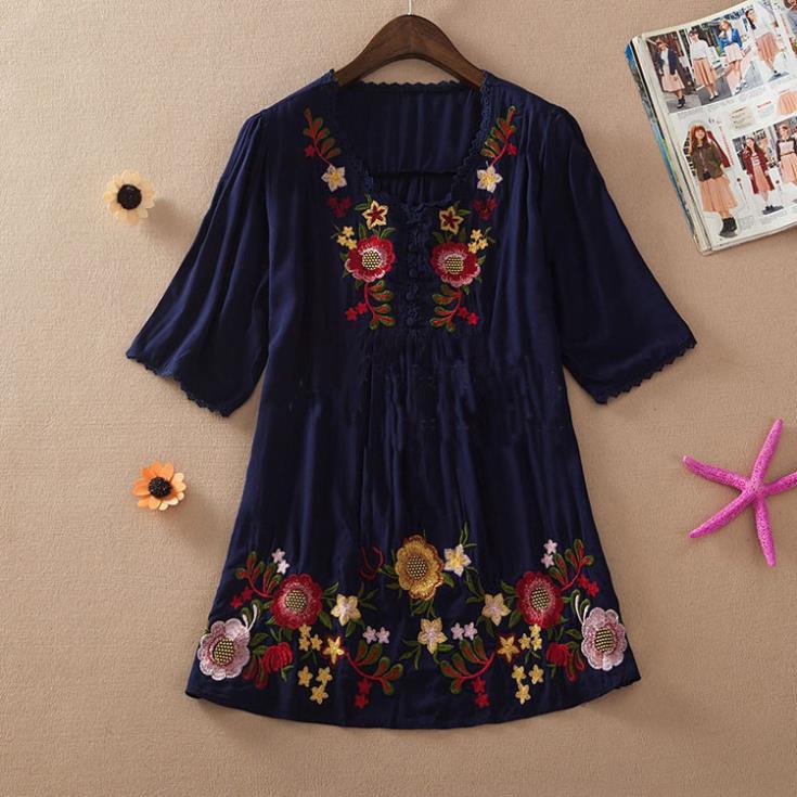 new   summer women blouses .100%  cotton shirts ,plus size casual  blusas femininas  shirt /blouses