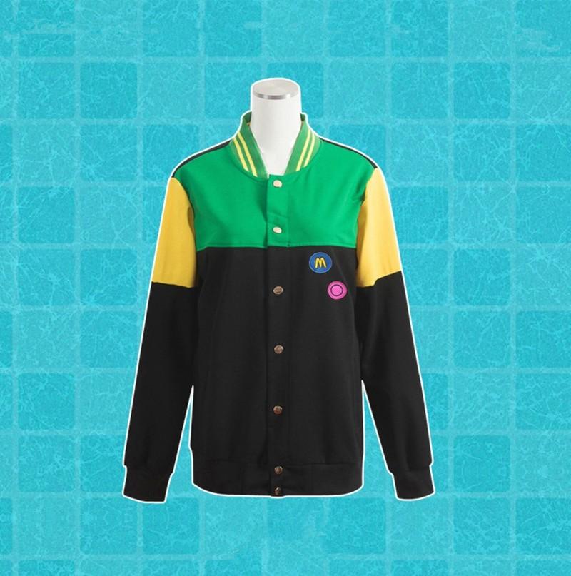 Anime Free! Iwatobi Swim Club Haruka Nanase Nagisa Hazuki Makoto Tachibana Rin Matsuoka Cosplay Jacket (7)