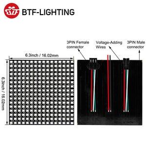 Image 3 - Panel de módulo Led Flexible WS2812B RGB Pixel, 8x 8/16x1 6/8x32, pantalla matricial WS2811 WS2812 IC direccionable individualmente DC5V