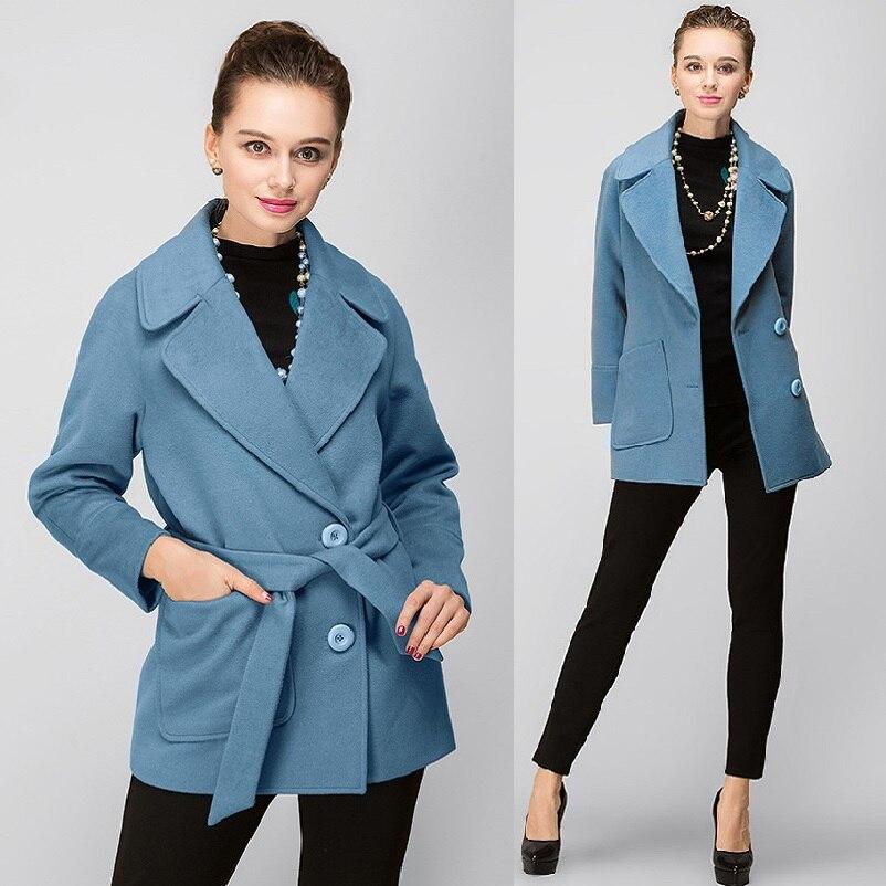 Outfit 2017 Outwear Plus M Bas xxxxxl De Automne Nouveau Vers 5xl Manteau Veste Laine Tournent Mode Hiver Taille Dames Bleu Le Manteaux La wOPXuTkZi