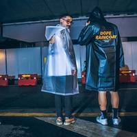 Waterproof Rain Poncho Transparent Clear Raincoats Girls Men Raincoat Women Adult Windbreaker Capa De Chuva Fashion LZO154