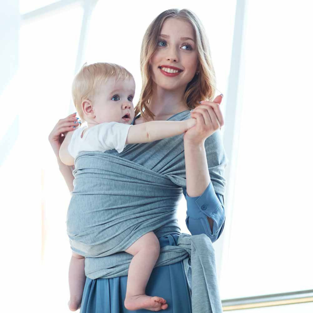 Mother & Kids Original Baby Sling Stretchy Wrap Carrier Adjustable Infant Comfortable Breathable Baby Slings Beach Towel Baby Wrap Carrier New Activity & Gear