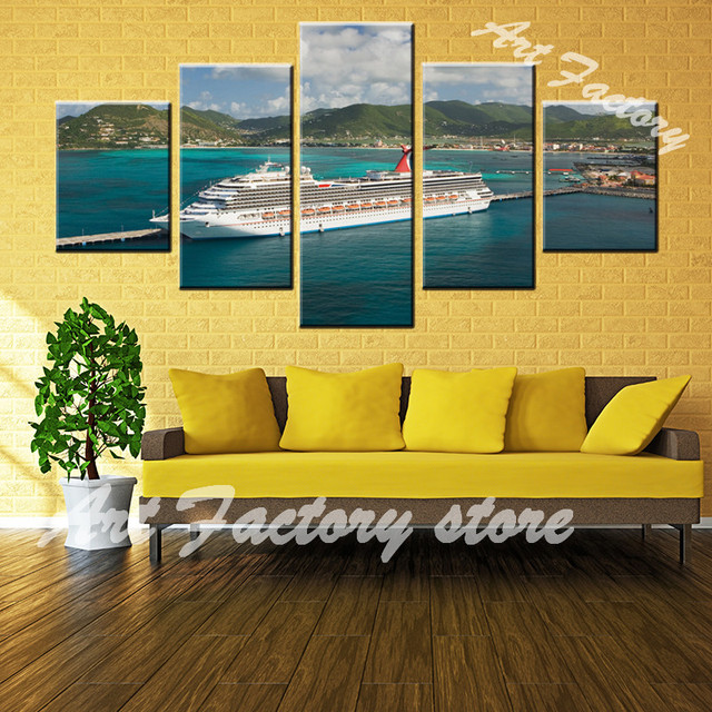 5 Pieces Canvas Paintings Wall Art HD Prints Modular Pictures Great ...