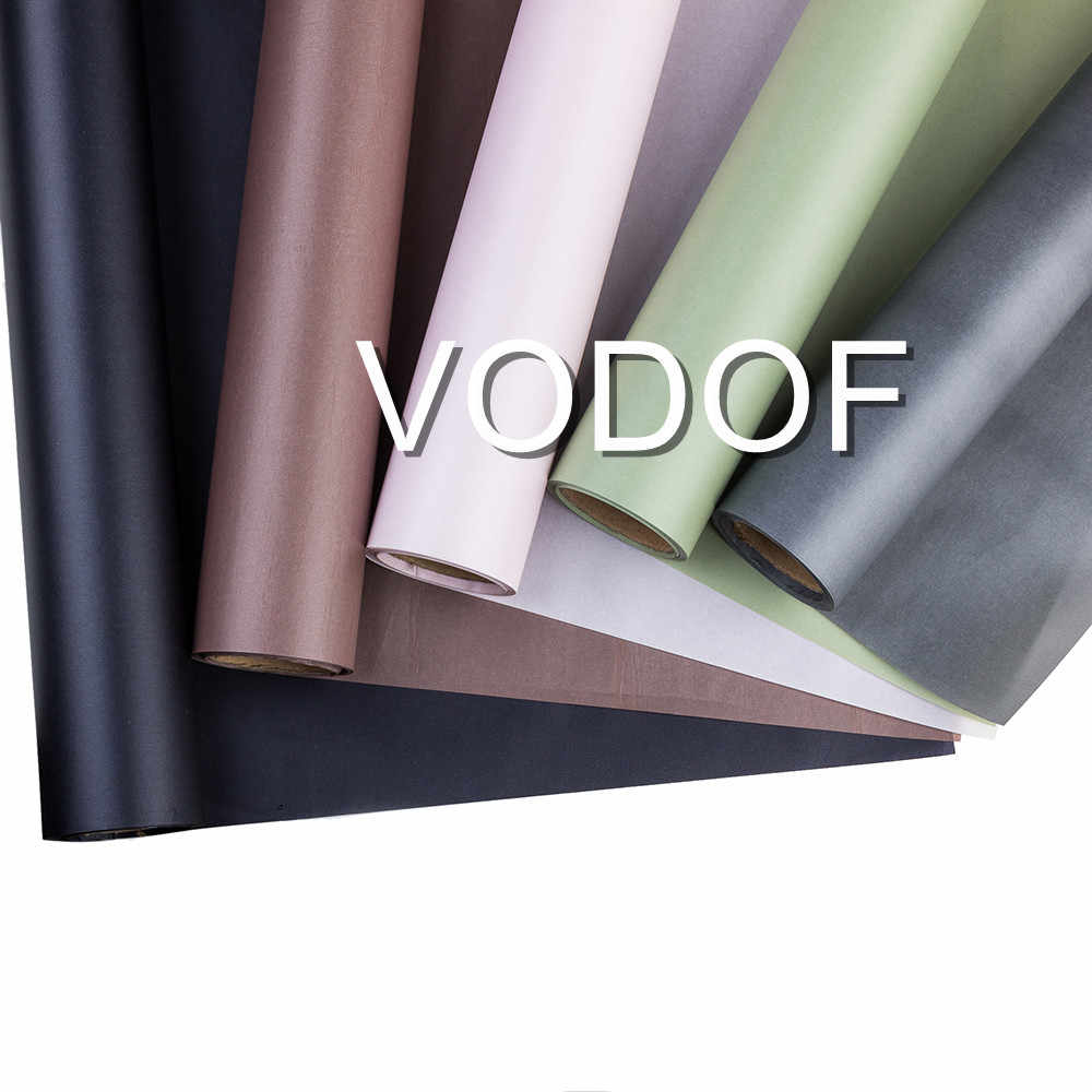 New Waterproof Flowers Wrapping Kraft Paper Gift Wrapping Paper Matte Flowers Bouquet Packaging Supplies Craft Paper Materials