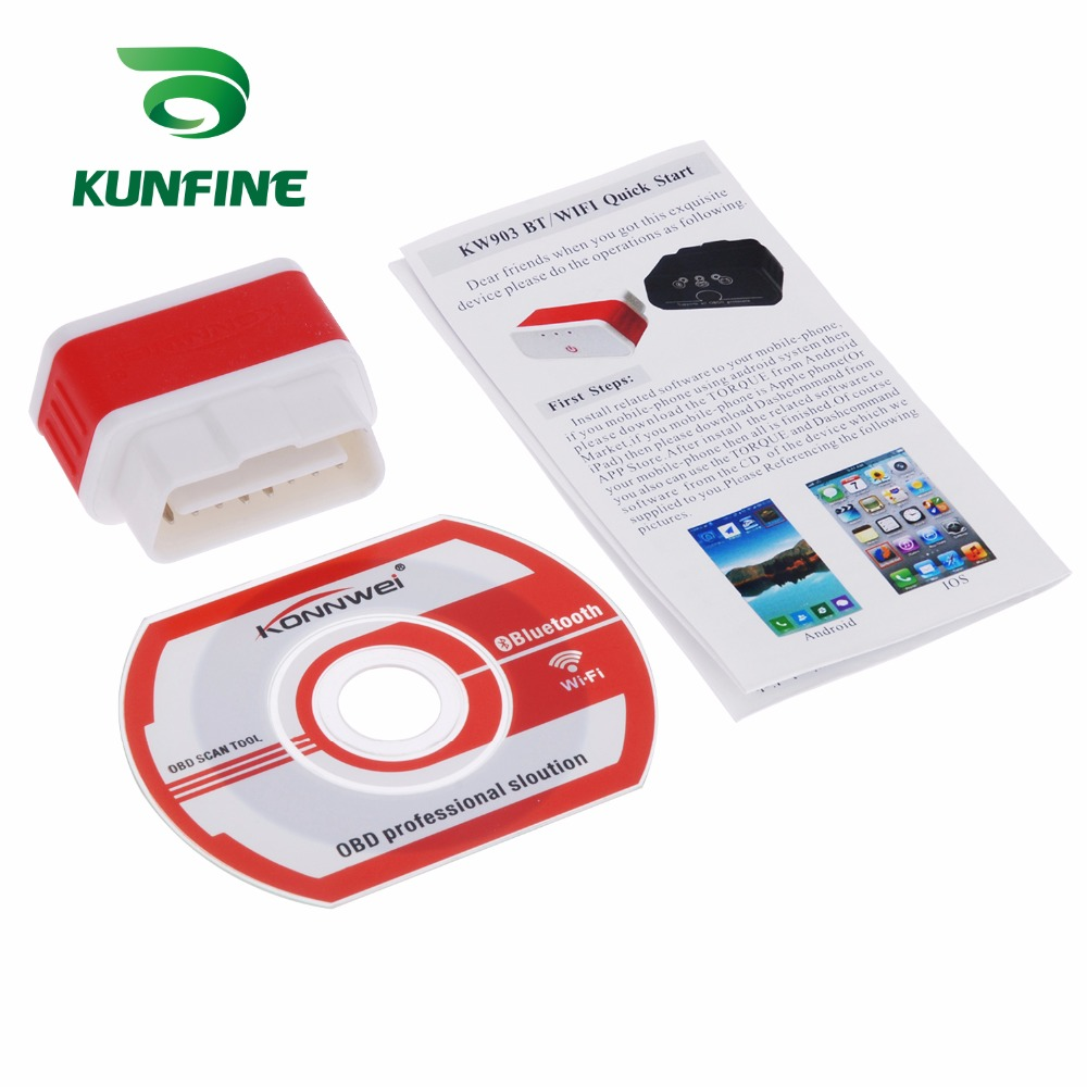 Auto Diagnostic Tool Car engine code Scanner Vehicle fault reader KF-A1189_8226