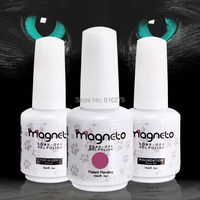 60 шт. УФ лампа верхнее покрытие + базовый слой комплект Идо гель лак для ногтей цвета УФ гель для ногтей varnishe Nail Magneto гель грунтовка для ногтей