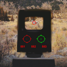 BESTSIGHT 551 552 553 Red Green Tactical for Airsoft with 20mm Dot Sight Red Dot