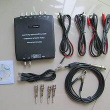"""New USB Oscilloscope Hantek 1008C USB 8CH hantek oscilloscope usb Automotive Diagnostic DAQ Program Generator + """" 2pcs 60MHz"""