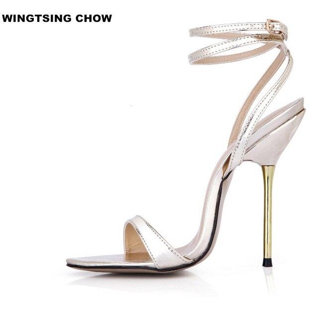 D'été Chaussures Taille Sexy 43 À Mode Sangle Sandale Talons Femmes b6yYfv7g