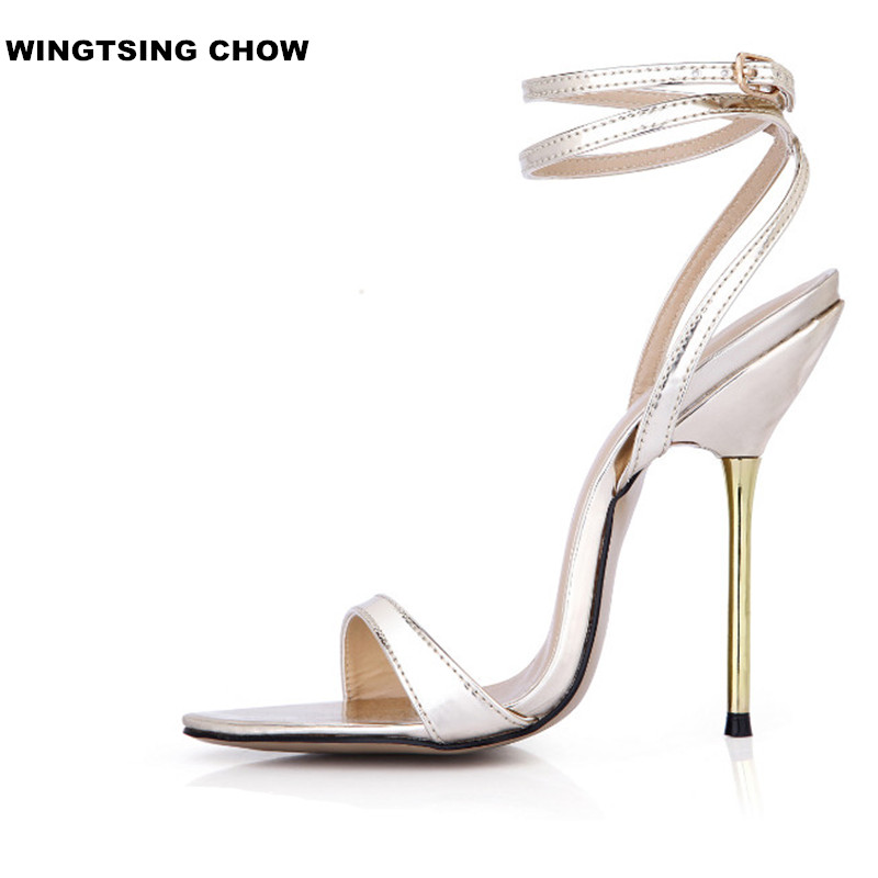 Sexy Strap Women Shoe Size 43 Summer Sandal Fashion High Heel Sandals 2018 summer new arrived strap design wedges women sandals peep toe comfort mid heel sexy lady sandal fashion student casual shoe
