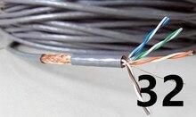 2019 Cabo Ethernet de Alta Velocidade RJ45 32 Roteador de Rede LAN Cabo Router Cabo de Computador para Computador