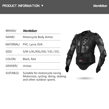 New Motorcycle Jacket Motocross Racing Motorcycle Body Armor Moto Protective Gear+Shorts Pants+Protection Knee Pads+Gloves Guard 1