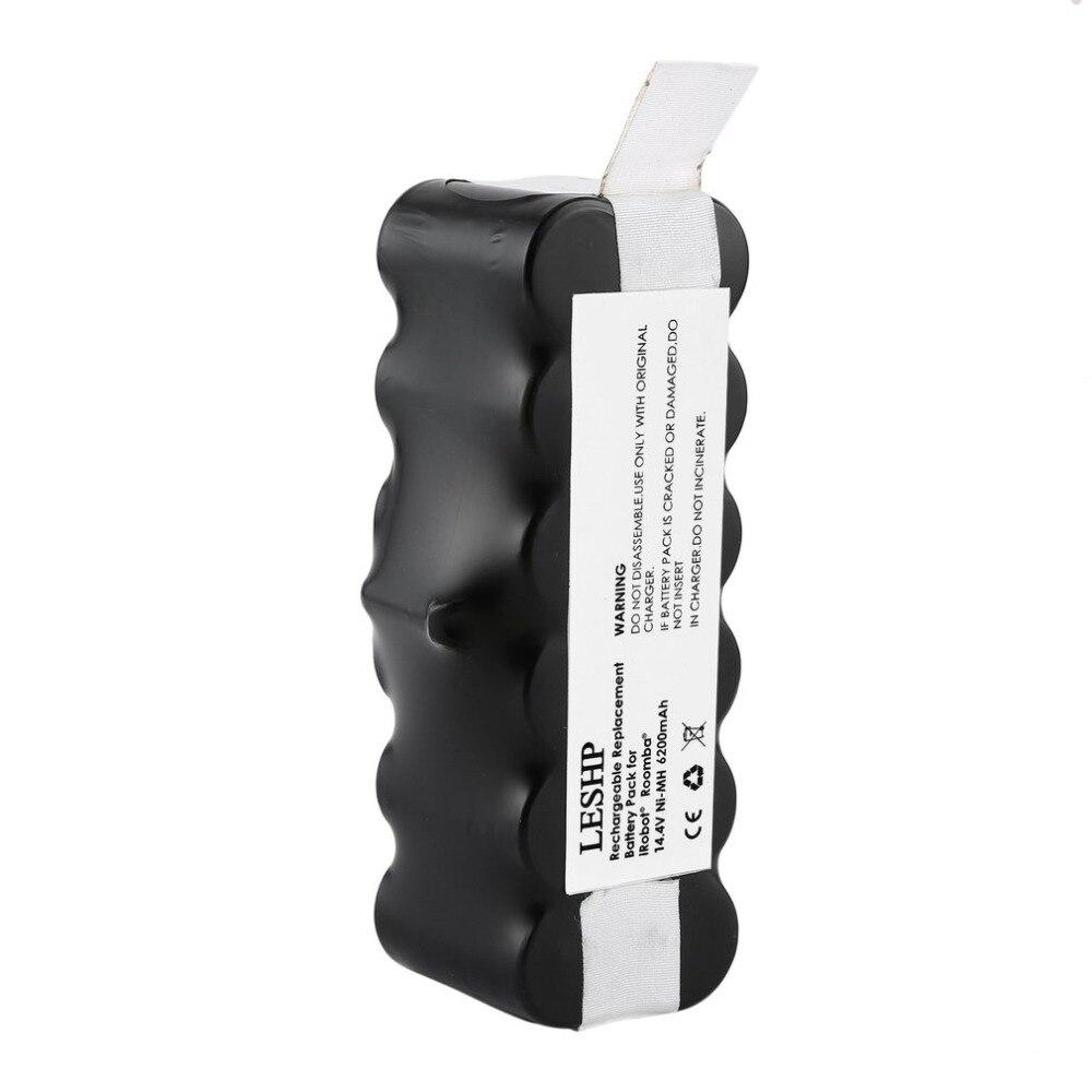Accessories for irobot roomba 14.4V 6200mAh Battery Capacity NI-MH Battery for iRobot Roomba Vacuum Cleaner 500 600 700 800 Ser