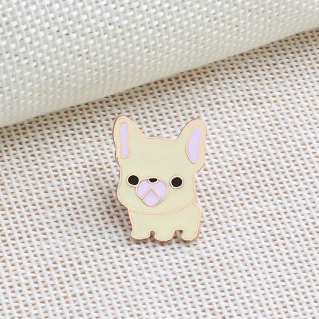 Cute Pet Pattern Enamel Pin Brooch