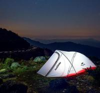NatureHike Tent Ultralight 2 Person 20D Nylon Farbic With Silicon Coated Waterproof Outdoor Camping Tents With