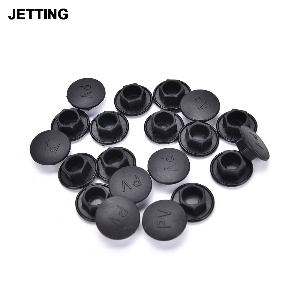 M6x40x30mm Screw On Type Five Pointed Star Industrial Knob Handle Grip 6Pcs
