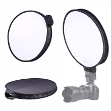 Newest 40cm Round Disc Softbox Flash Diffuser Heat-Resistant For Camera Speedlite Speedlight