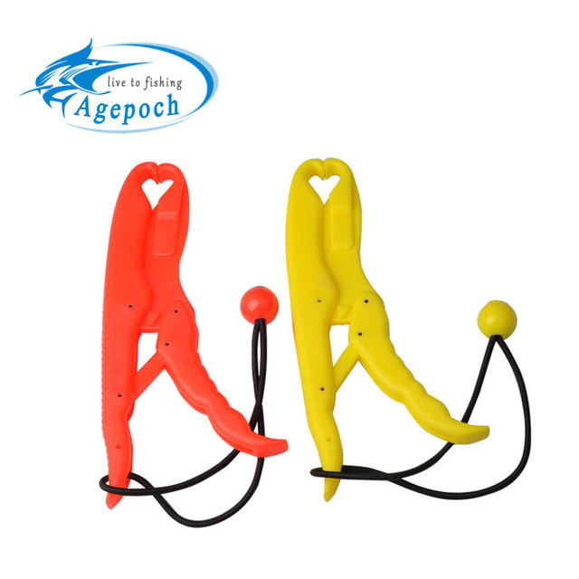 Agepoch ABS United Plastics Fish Grip Team Catfish Controller Lip Grip Floating Gripper Big Size Tackles For Fishing
