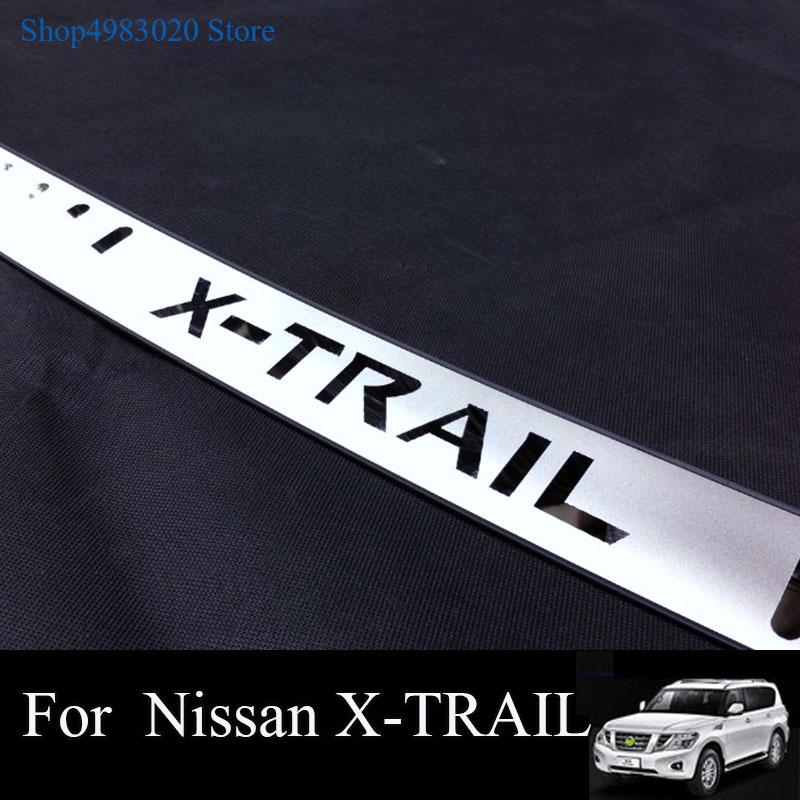Onestà Per Il 2014-2016 2017 2018 Nissan X-trail X Trail T32 Ultrasottile In Acciaio Paraurti Posteriore Della Protezione Del Davanzale Esterno Guardia Pedale Accessorio Moderno Ed Elegante Nella Moda