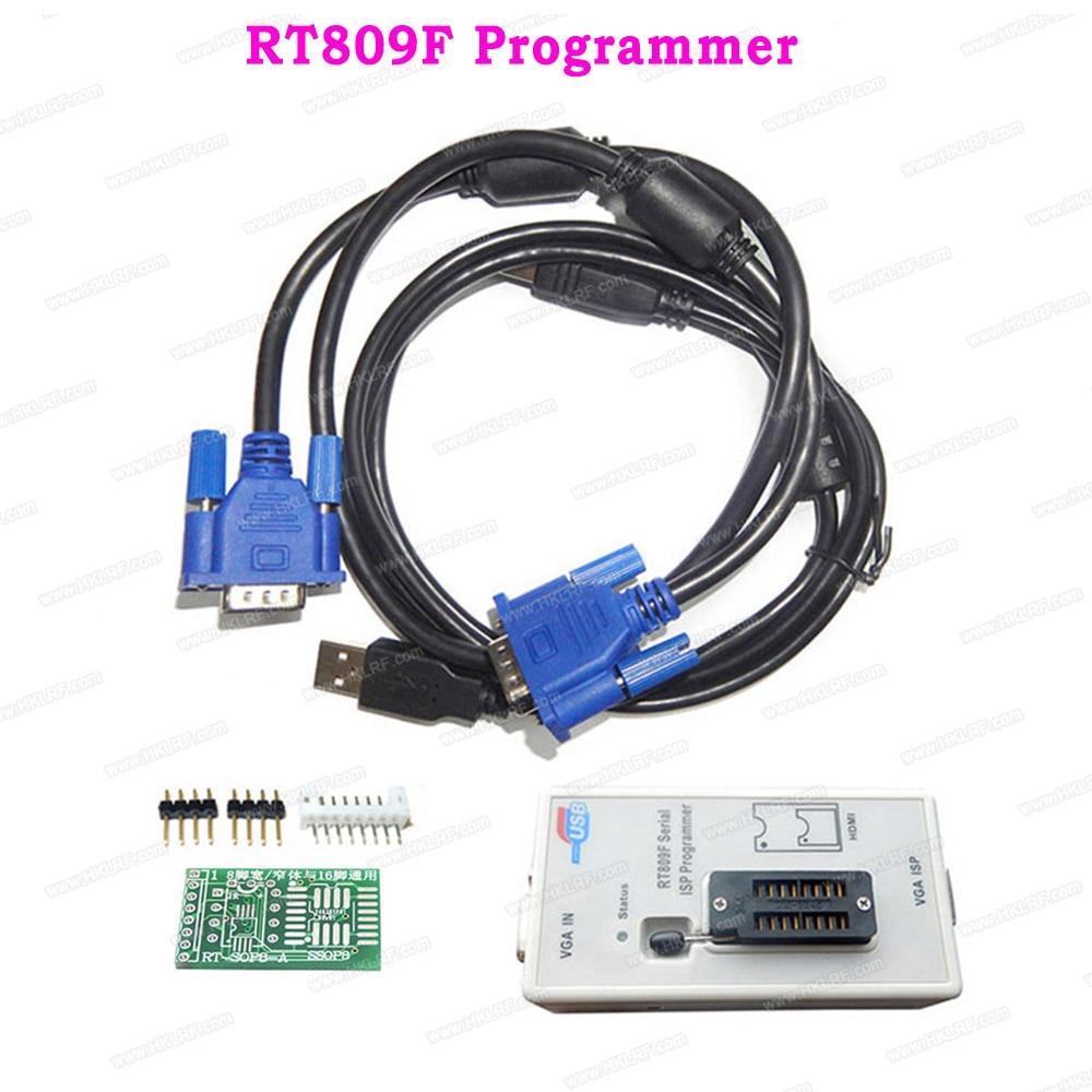 RT809F EMMC Nand FLASH Universal Programmer Similar RT809F VGA AVR GAL PIC ISP EPROM USB Programmer