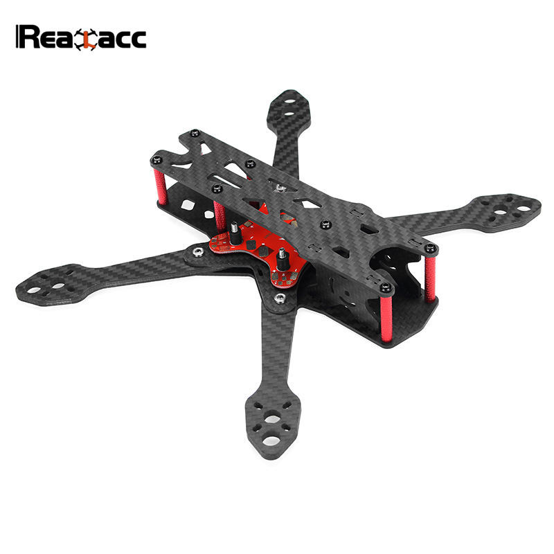 Realacc Real4 220mm Wheelbase 4mm Arm X Structure Frame Kit W/ PDB Board for RC Drone FPV Racing Quadcopter Spare Part
