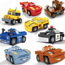 SLPF Racing Car Compatibie Legoing Building Blocks Toy Assemble Model Kit DIY Educational Children Christmas Birthday Gift B11(China)