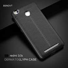 For Xiaomi Redmi 3s Case For Redmi 3s Cover Soft Leather Business Shockproof Anti-knock Phone Case For Xiaomi Redmi 3 Pro Case