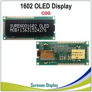 Image 2 - Thật Màn Hình Hiển Thị OLED, tiêu Chuẩn KS0066 1602 162 16*2 Nhân Vật Module LCD Màn Hình LCM Màn Hình Hỗ Trợ Song Song SPI IIC/I2C