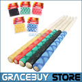 Drum Stick Grips Anti-slip Drumsticks Grip Soft Tip For Drummer Musical Instrument New