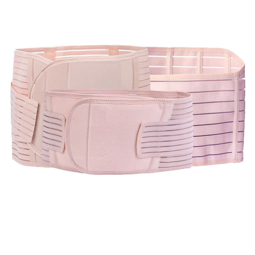 3in1 Belly Abdomen Pelvis Postpartum Belt Body Recovery Shapewear Belly Slim Waist Breathable Waist Trainer Slimming Bandages in Belly Bands Support from Mother Kids