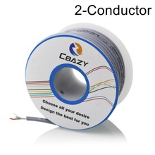 2C-Grey-8M-UL 2547 28/26/24 AWG Multi-core control cable copper wire shielded audio cable headphone cable signal line real cable cr2510 2c 4pcs