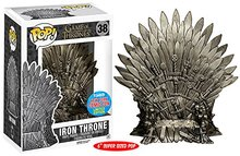 "NYCC Exclusive 6"" Funko pop Official TV: Game of Thrones – Iron Throne #38 Collectible Vinyl Figure Model Toy with Original box"