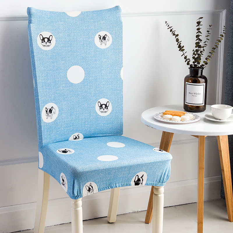 Tropical Flamingo Printing Spandex Elastic Dining Chair Protector Covers Home Kitchen Anti-dirty Removable Stretch Seat Case 30