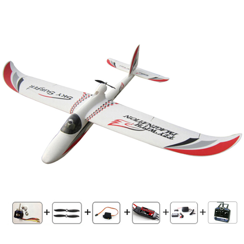 RC plane 2000mm 2M Skysurfer RC glider Ready to fly remote control air plane model airplanes for Hobby aircraft flying toys