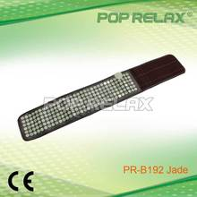 POP RELAX Thermal heating negative anion health care jade waist belt PR-Belt192 PVC CE
