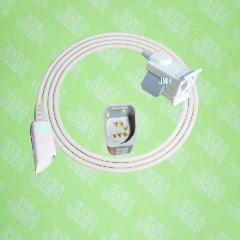 Compatible with 6pin Novametrix 505, 510,511,520,7000,7100 Oximeter monitor the Pediatric/Child finger clip spo2 sensor.Compatible with 6pin Novametrix 505, 510,511,520,7000,7100 Oximeter monitor the Pediatric/Child finger clip spo2 sensor.